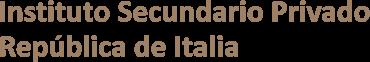 ISPRI | Instituto Secundario Privado República de Italia